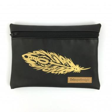 Special Täschli Feathers Gold